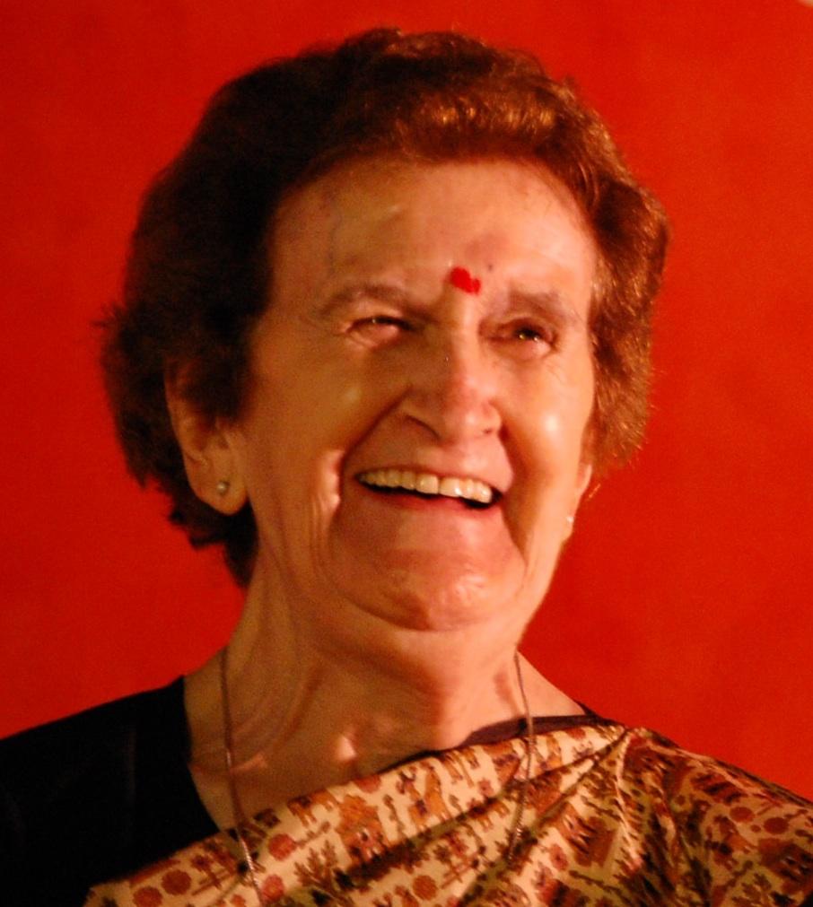 Isabel Martín, misionera en Bombay, India