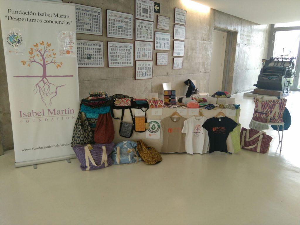 Mercadillo Solidario de Comercio Justo en la Universidad San Jorge