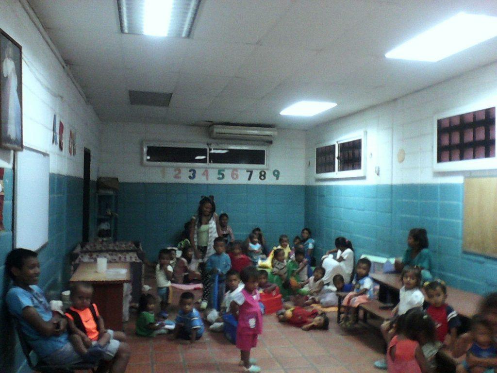 Niños en el CEPIN, Maracaibo, Venezuela