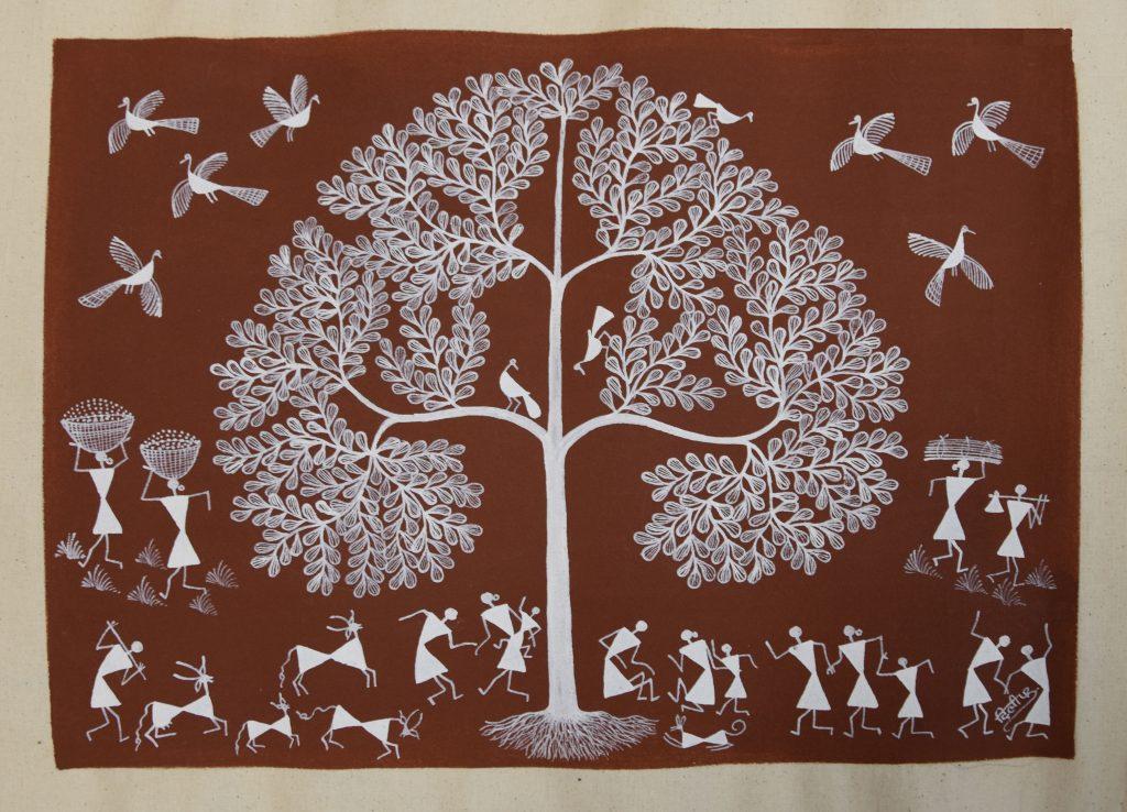 Título: Árbol de la Vida. Autor: Dilip Bahota