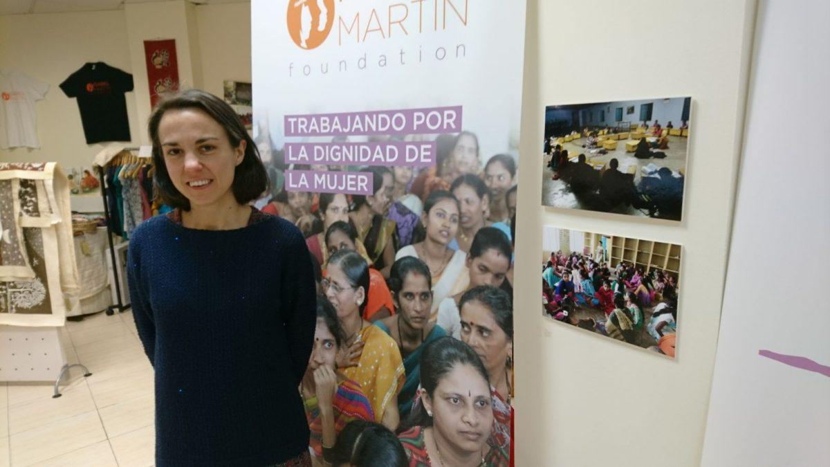 Sara Gutiérrez, Reponsable de Proyectos de la Fundación Isabel Martín