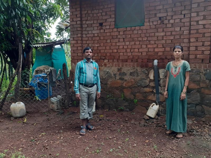 pareja agricultores india