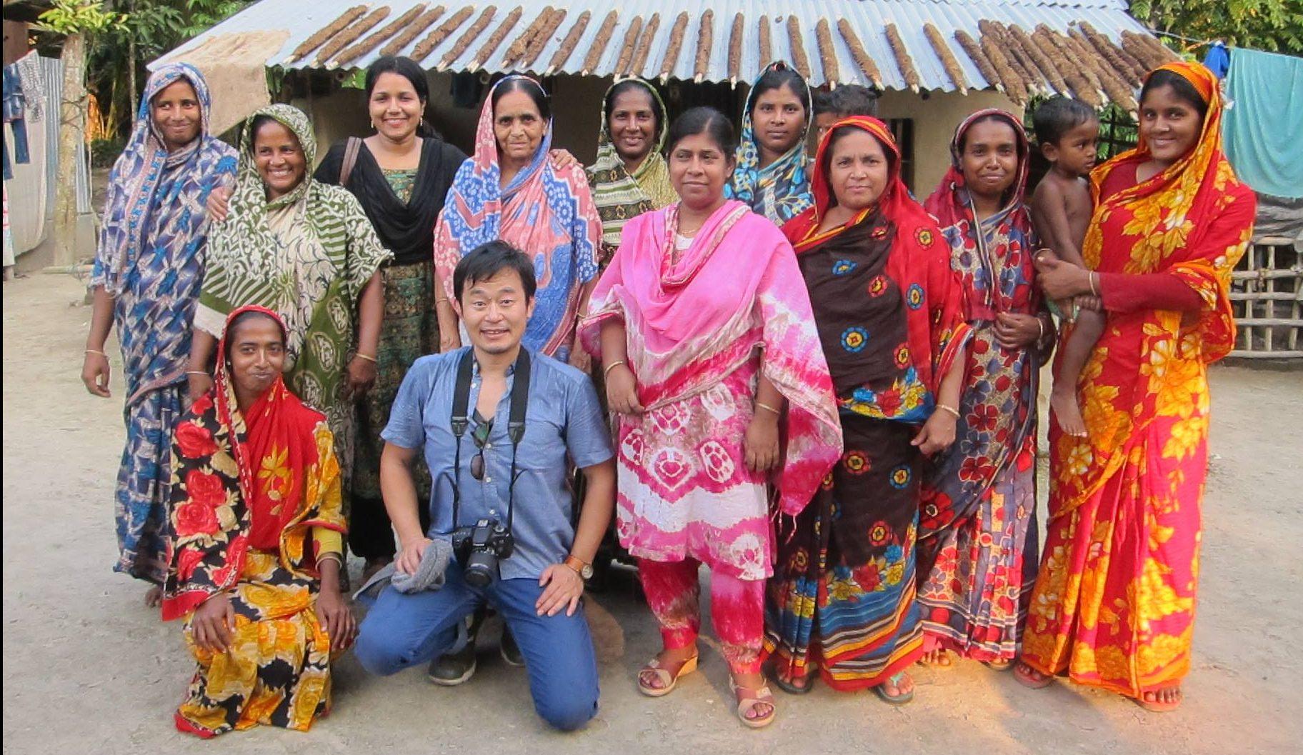 Imagen de la organización de Comercio Justo en Bangladesh, Base