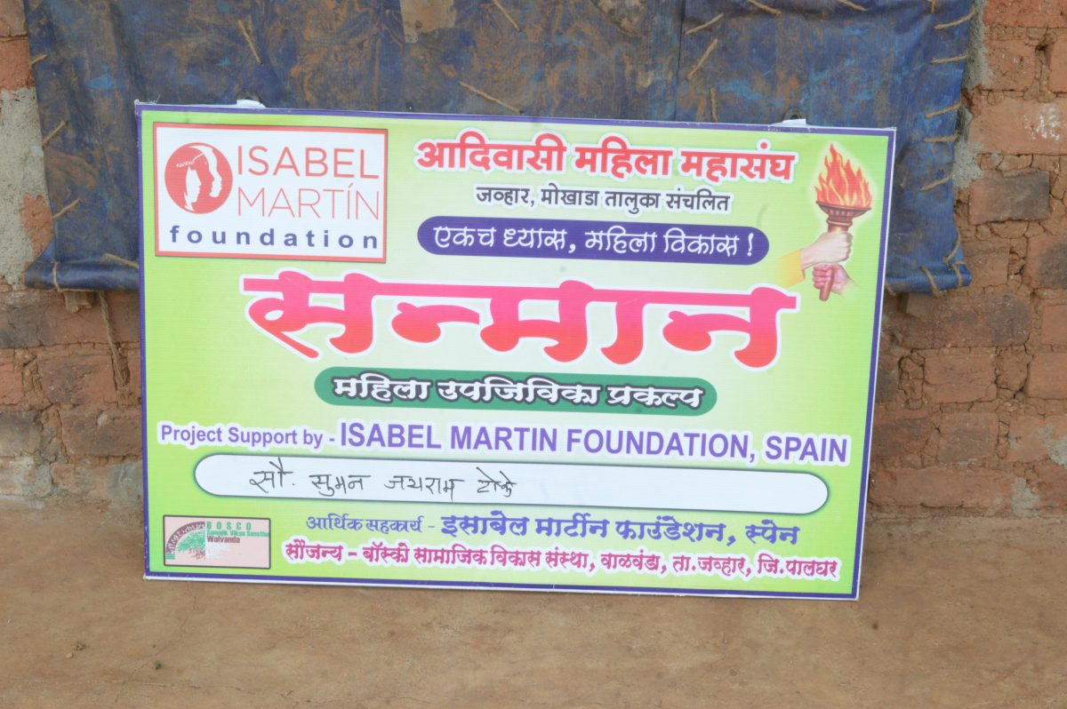 Proyecto de Mujeres «Sanmaan» en Maharashtra, India.