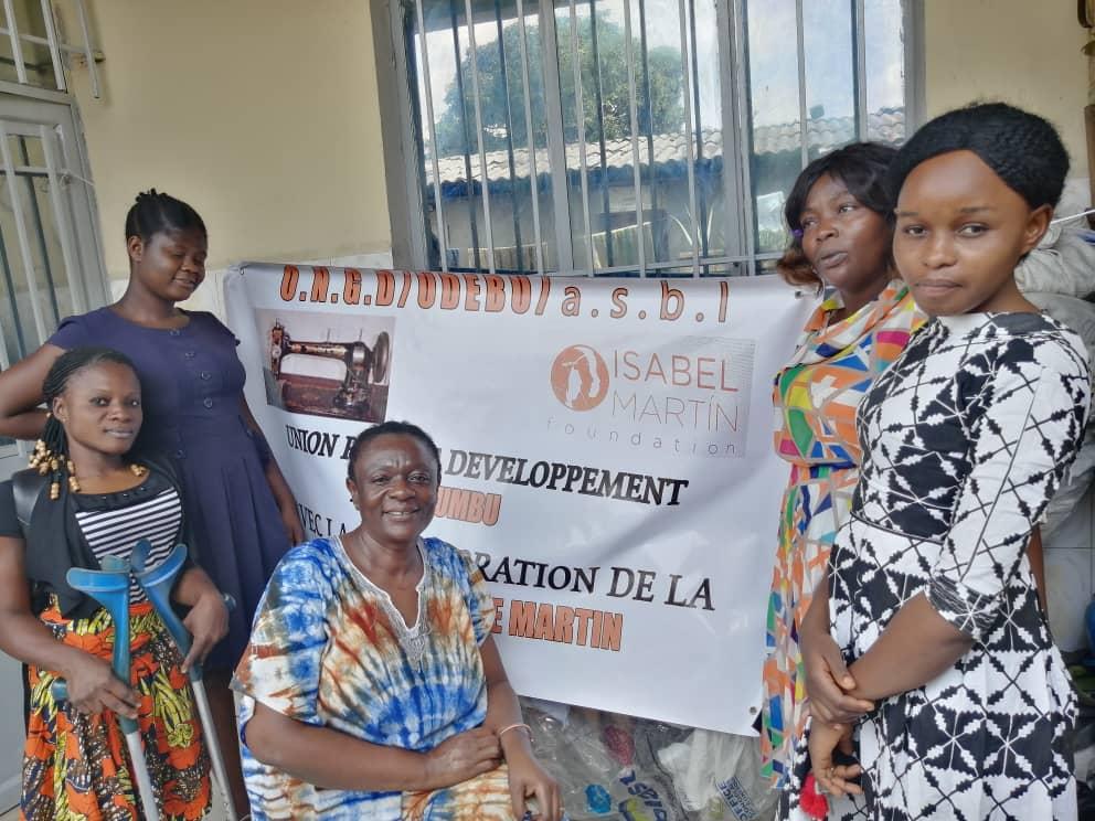 Mujeres emprendedoras en Kinshasa, R.D. Congo